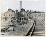Morris & Somerset Electric Company, building view, 4/19/1923, Morris County, NJ
