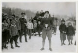 Ice Carnival, Ray Taylor, cup winner for half-mile race, 2/22/1926, Burnham Park, Morristown, NJ