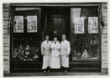 Mutual Grocery Co. store, group of Clerks at12/18/1925, Water St., Morristown, NJ