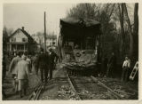Trolley collision involving Morris County Traction Company, 5/1/1926, Morristown, NJ