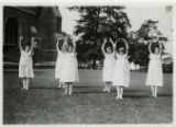 St. John the Baptist students as dancing nymphs at St. Peter's Church, 5/22/1926, Morristown, NJ