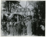 Masonic Temple, cornerstone laying, Maple Avenue, 10/25/30, Morristown, NJ