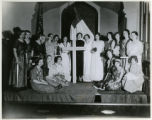 Pageant at Presbyterian Church, 2/27/1931, Morris Plains, NJ
