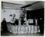 Salvation Army Christmas dinners for the poor, Christmas Eve, 12/24/1930, Morristown, NJ