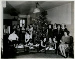 Telephone girls, Christmas Eve, 12/24/1930, Morristown, NJ
