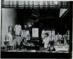 Girl Scouts window exhibition, Singer Sewing Machine Shop, 12/9/1930, Morristown, NJ
