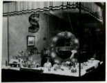 Singer Sewing Machine Co., window display, 12/22/1930, Morristown, NJ