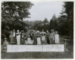 Girl Scouts, prize winners at Mrs. Gustav Kissel's, 5/29/1926, Morristown, NJ
