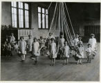 Maypole dance at the Neighborhood House, 5/29/1926, Morristown, NJ