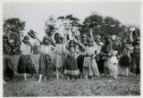 Children dressed as Gypsies at the Children's Home, 6/19/1926, Parsippany, NJ