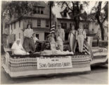 July 4th Parade, Sons and Daughters of Liberty Float, 07/04/1933, Morristown, NJ