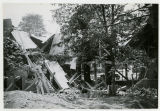 Fallen house at the corner of Speedwell and Sussex Ave., 6/30/1926,  Morristown, NJ