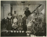 Wortman Family portrait, 12/25/1934, Cedar Knolls, NJ