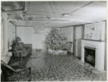 Cellar play room in home of F.J. Dress, 12/24/1934, Morris Plains, NJ