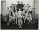 "YMCA cast in ""Loose Change"" at Morristown High School, 10/25/1934, Morristown, NJ"