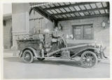 Humane pumping fire truck engine, Morristown, NJ, 1/19/1921