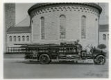 Resolute Hook and Ladder Co. fire truck, Morristown, NJ, 9/22/1921