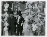 Baby parade, children dressed as bride and groom, 10/12/1914, Summit, NJ