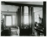 Speedwell Avenue house, #215, towards front parlor, 1/15/1915, Morristown, NJ