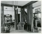 Speedwell Avenue house, #215, towards dining room from front parlor, 1/15/1915, Morristown, NJ