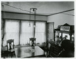 Speedwell Avenue house, # 215, dining room interior, 1/15/1915, Morristown, NJ