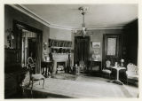 Perry Street, #7, Interior of Miss Mary Lee's home, 08/05/1927, Morristown, NJ