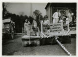 "Baby Parade, ""World's Heavyweight Champion"" float, 09/03/1927, Morristown, NJ"