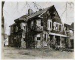 Early Street,#47, Isaac D. Lyon house after a fire, 12/27/1927, Morrisown, NJ