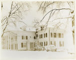 South Street, #235, Grinnell Willis house, side view, 02/18/1928, Moristown, NJ