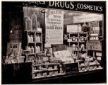 Window display, Erlich Drug Store, 09/08/1933, Morristown, NJ