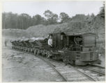 Morris County Crushed Stone Co., train and cars, 6/11/1923, Morris County, NJ