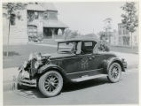 Fire Department Chief car, 07/07/1928, Morristown, NJ