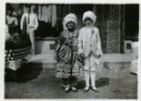 Baby Parade, children posing in period dress, 09/03/1927, Indian Lake, Denville, NJ