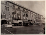 Speedwell Avenue storefronts, view facing northwest,06/07/1937, Morristown, NJ