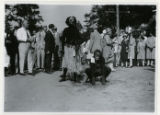 "Parade, ""Freaks"" in costume, entry #45, 09/03/1927, Indian Lake, Denville, NJ"