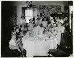 Speedwell Avenue, #233, children's birthday party at Chester F. Sarnow house, 05/07/1928,...