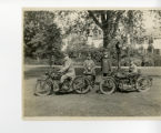 Police motorcycle squad, 6/4/1926, Morristown, NJ