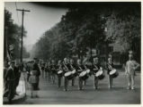 Somerville Drum Corps at Firemen's Parade, 10/9/1935, Morristown, NJ