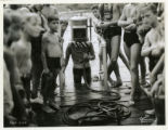 Burnham Park Pool, deep water diving demonstration,  8/13/1936, Morristown, NJ