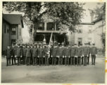 Mendham Fire Department members, 10/9/1935, Mendham, NJ