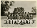 Jersey A.C. softball team, 7/10/1938, Hazel Street, Morristown, NJ