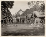 Civilian Conservation Corp., Camp entrance, Jockey Hollow, 09/29/1933, Morris County, NJ