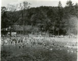 Burnham park swimming pool, 7/7/29, Morristown, NJ