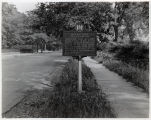 Bronze Historic Marker, 06/07/1932, South Street, Morristown, New Jersey