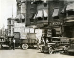 Radios being delivered to Jolley's radio store, 8/9/29, Morristown, NJ