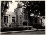 Library entrance, 05/25/1938, Morristown, NJ