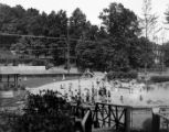 Burnham Park Pool, 07/09/1932, Morristown, NJ