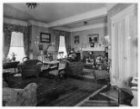 Den in home of Mrs. Edward A. Thompson, Madison Ave., 08/27/1932, Morristown, NJ