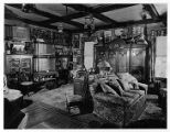 Room in home of Mrs. Edward A. Thompson, Madison Ave., 10/27/1932, Morristown, NJ