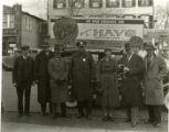 Group in front of Fredrick's garage, 3/1/32, Morristown, NJ